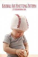 small baseball_hat_baby_knitting_pattern_01_littleredwindow