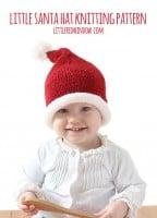 small little_santa_hat_baby_knitting_pattern_01_littleredwindow