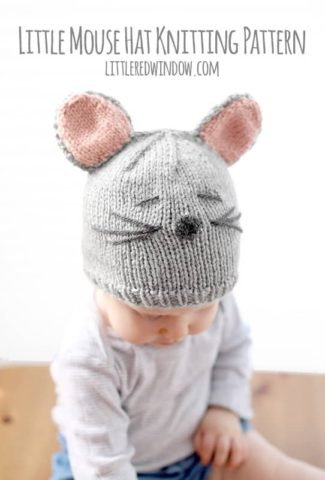Little Mouse Hat Knitting Pattern