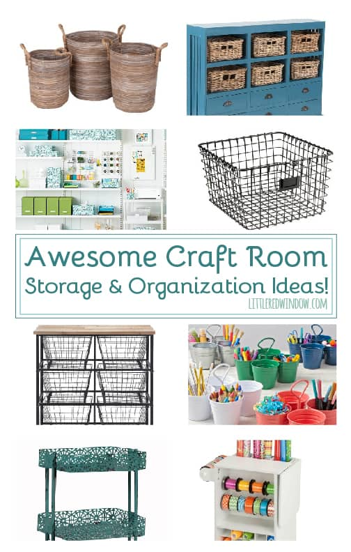Awesome craft room storage and organization ideas little red window get yourself organized with these awesome craft room storage ideas solutioingenieria Choice Image