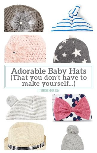 Adorable Baby Hats You Don't Have to Make Yourself!