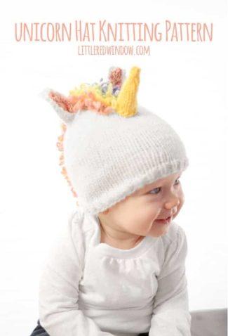 Magical Unicorn Hat Knitting Pattern