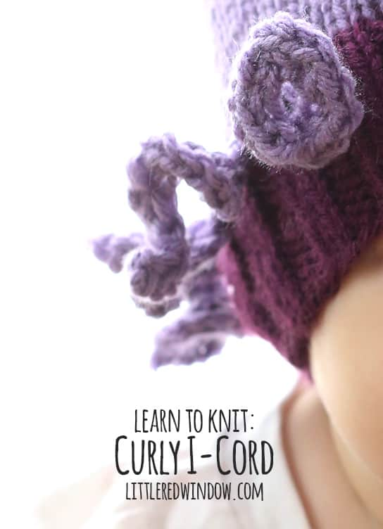 Learn to Knit – Curly I-Cord