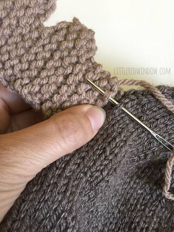 Mini Moose Hat Knitting Pattern - Little Red Window