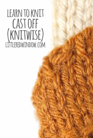 Learn to Knit – Cast Off Knitwise