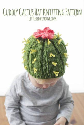 Cuddly Cactus Hat Knitting Pattern