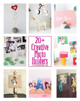 Creative DIY Photo Holders