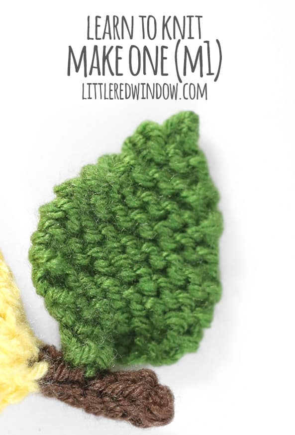 Learn to Knit – Make One (m1)