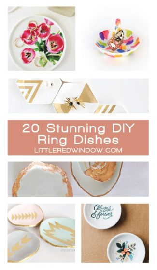 Stunning DIY Ring Dishes