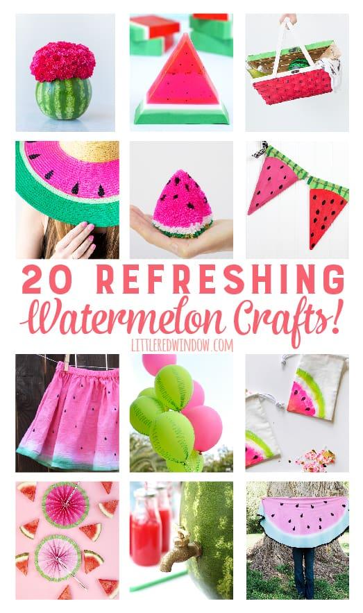 Refreshing Watermelon Crafts!