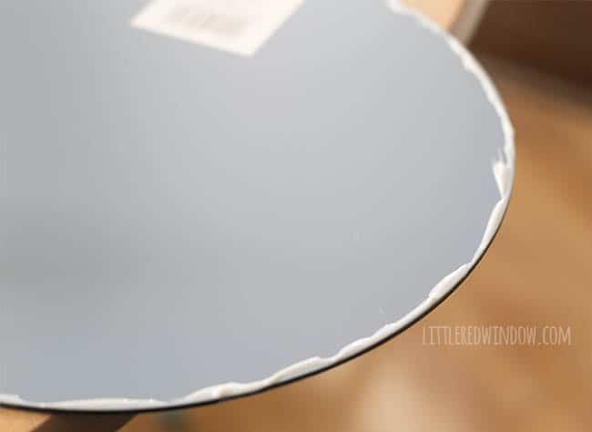 Five Minute DIY Starburst Mirror (yes, it really only takes five minutes!)   littleredwindow.com