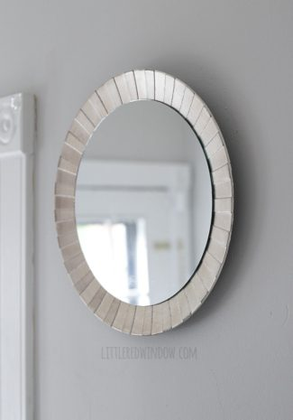 Five Minute DIY Starburst Mirror