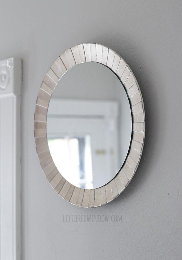 Five Minute DIY Starburst Mirror