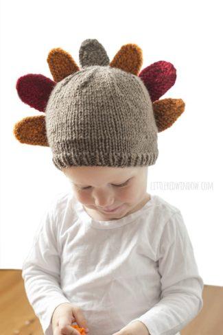Thanksgiving Turkey Hat Knitting Pattern