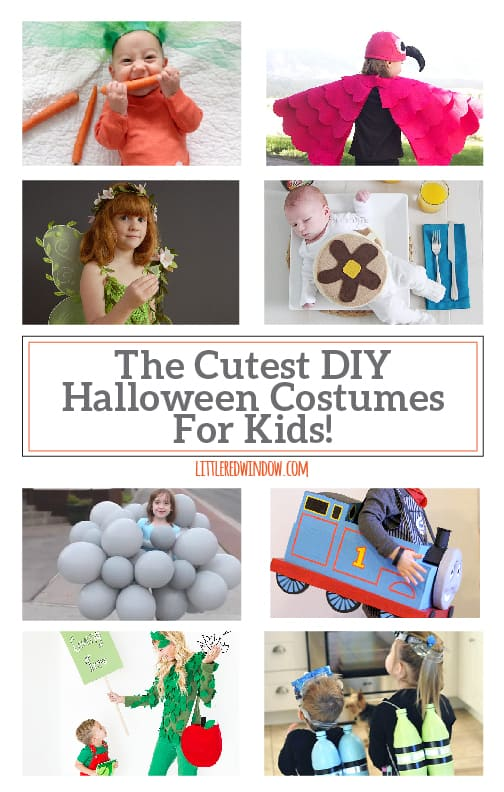 The Cutest DIY Halloween Costumes for Kids! | littleredwindow.com