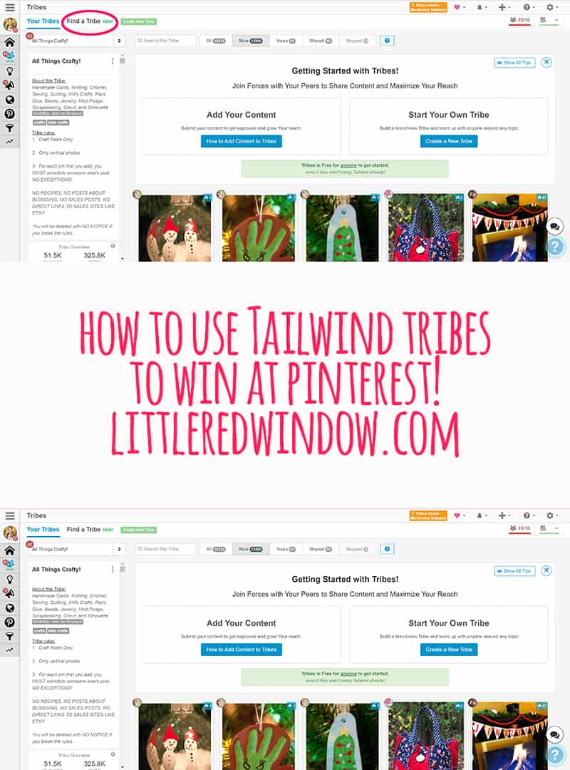 How to Use Tailwind Tribes to win at Pinterest!
