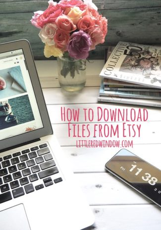 How to Download Files from Etsy