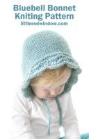 small Bluebell Bonnet Hat Knitting Pattern_01c_littleredwindow