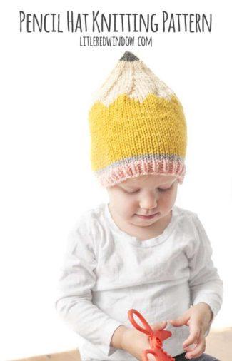 Pencil Hat Knitting Pattern