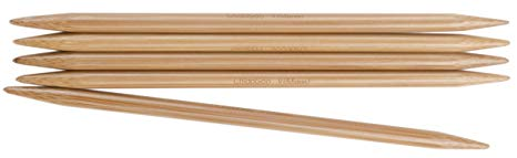 ChiaoGoo 6-Inch Double Point Knitting Needles, 7/4.5mm, Set of 5