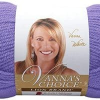 Lion Brand Yarn 860-183 Vanna's Choice Yarn, Periwinkle