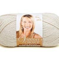 Lion Brand Yarn 860-099H Vanna's Choice Yarn, Linen