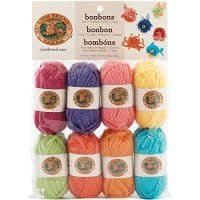 Lion Brand BonBons Yarn Pack Brights, Brights