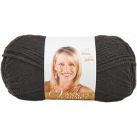 Lion Brand Vanna's Choice Yarn (153) Black, Black