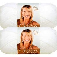 Bulk Buy: Vanna's Choice Lion Brand Yarn (2-pack) (White)