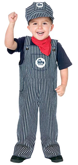 Fun World Costumes Baby's Train Engineer Toddler Costume