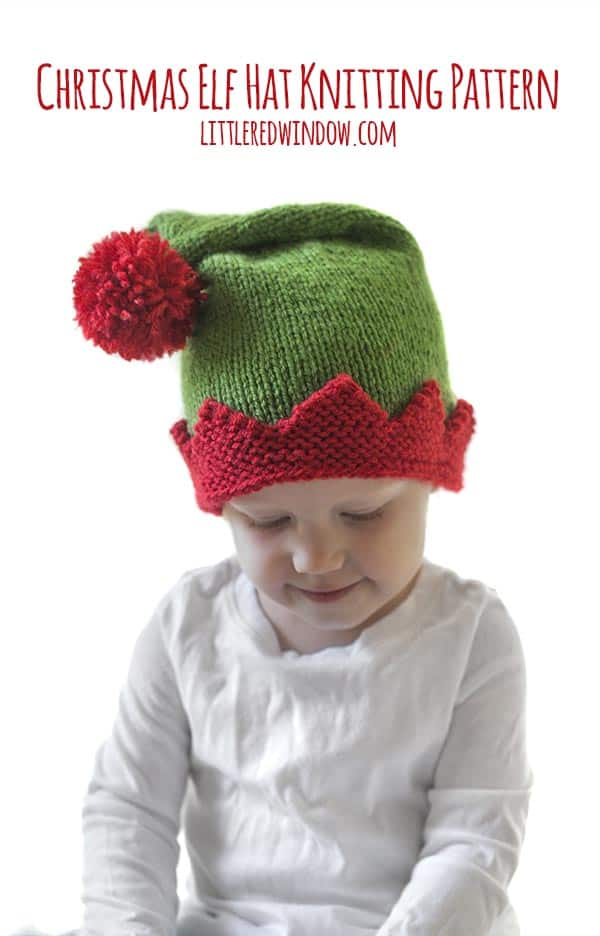 Christmas Elf Hat Knitting Pattern