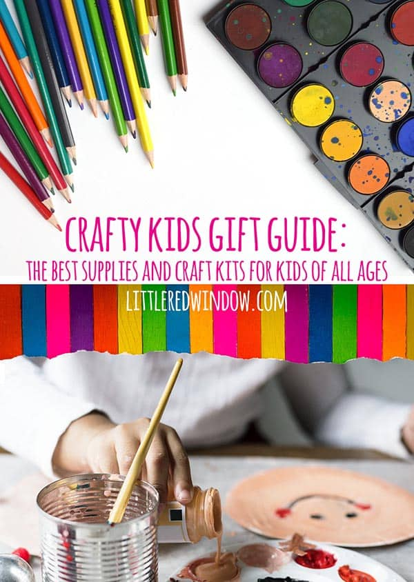 Crafty Kids Gift Guide: The Best Supplies and Craft Kits for Kids!