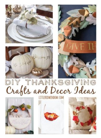 DIY Thanksgiving Crafts and Decor Ideas