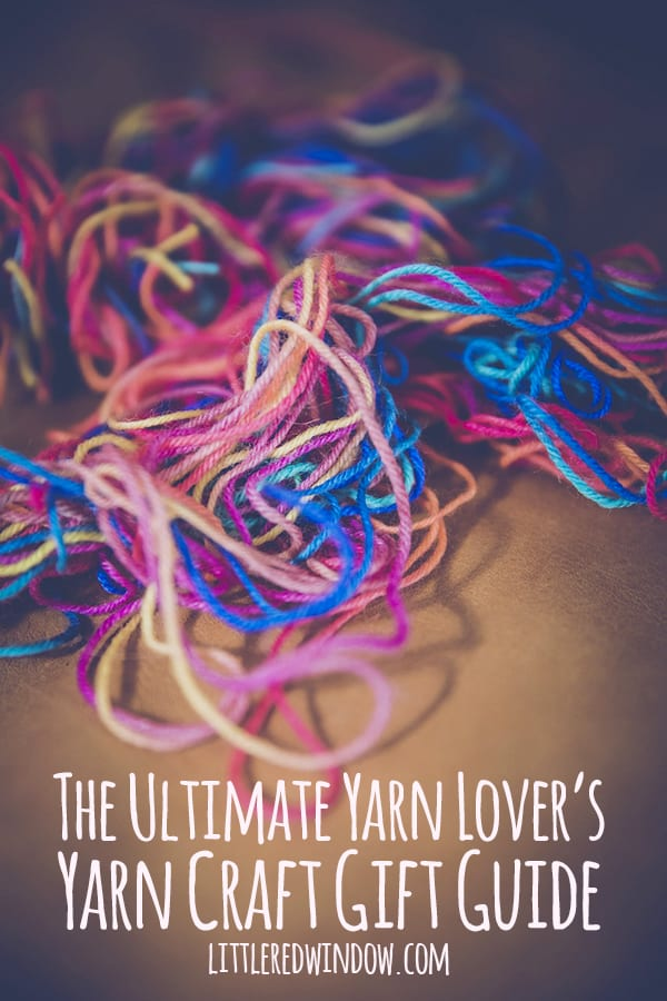 The ultimate yarn lover's yarn craft gift guide, this list for the yarn and fiber lover in your life is chock full of fun gift ideas!