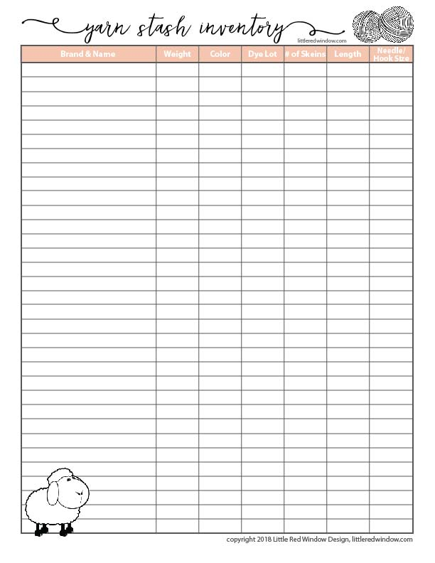 photograph relating to Printable Knitting Graph Paper titled No cost Printable Knitting Planner and Crochet Planner Internet pages