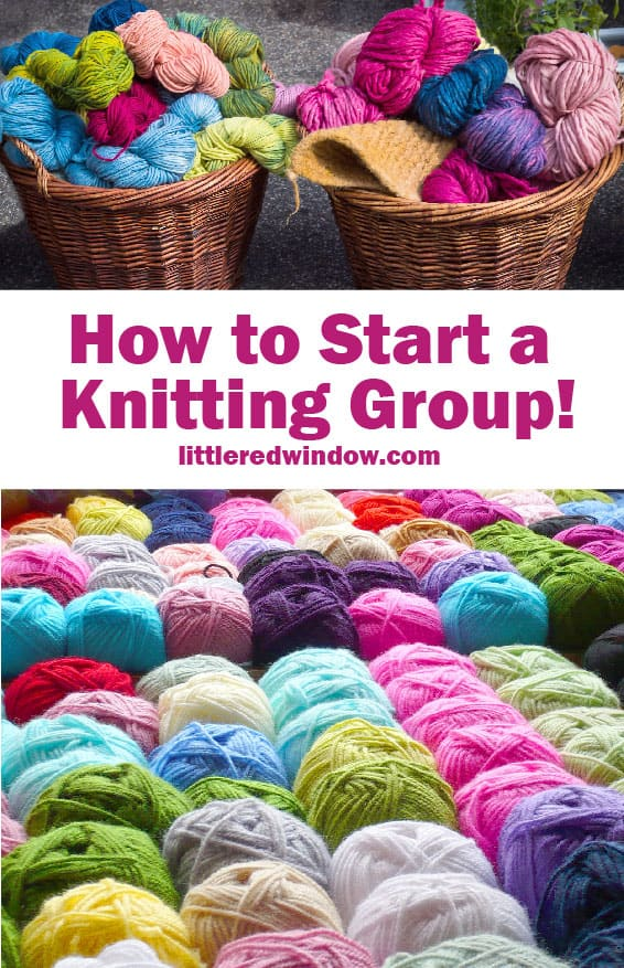 Starting or joining a knitting group is a great way to meet new people and have fun, learn all the tips and tricks to making sure your knitting group is successful!