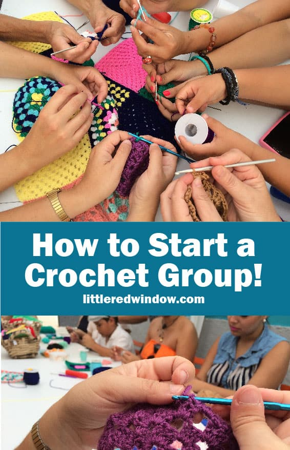 If you love to crochet, you should start a crochet group, it's a great way to meet people, learn new things and have fun! Learn all the tips and tricks to make sure your crochet group is great!