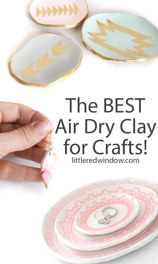 Learn which air dry clay is the best to use for craft projects and get tips and tricks for working with air dry clay!