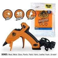 Gorilla 8401515 Hot Glue Gun and Sticks, 75 ct