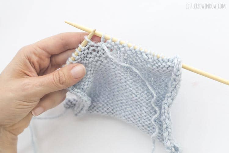 You've fixed your dropped purl stitch!