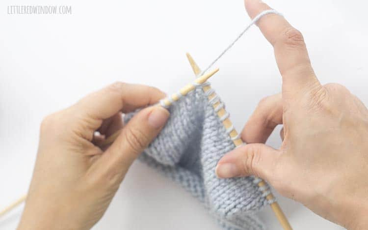 To do an s2kp, knit the next stitch