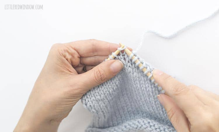 For an skp, slip the first stitch knitwise