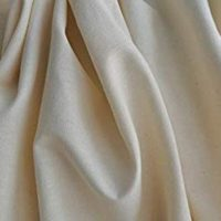 Organic Cotton Muslin Fabric - Natural - By the Yard