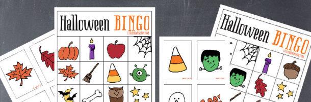Halloween Bingo Patterns.Halloween Bingo Free Printable Little Red Window