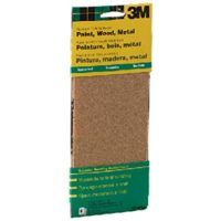 3M 9019 General Purpose Sandpaper Sheets, 3-2/3-Inch by 9-Inch, Assorted Grit