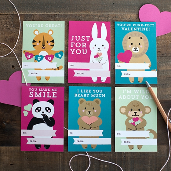 Find Cute Printable Kid's Valentine's Day Cards