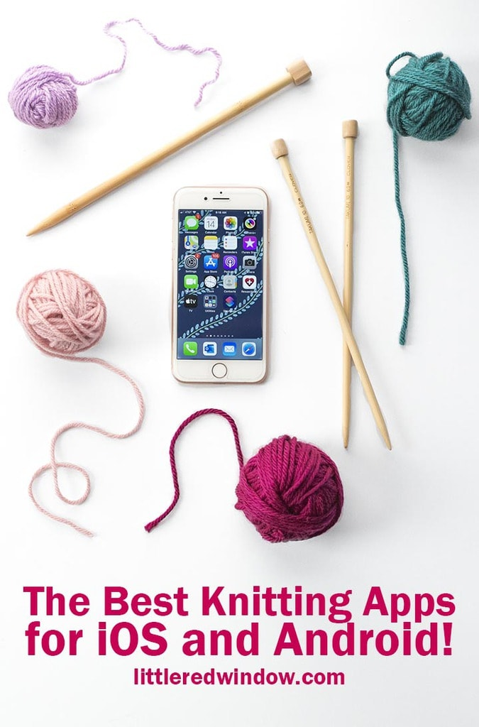 Find out which knitting apps you need on your phone! You can do everything from plan & design, to read patterns, find inspiration and keep track of your stash all in the palm of your hand!
