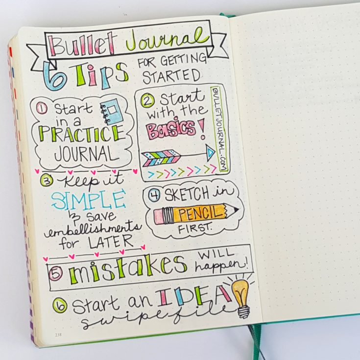 Bullet Journaling 101: Everything you need to know to get started!