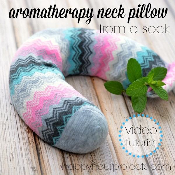 DIY Aromatherapy Neck Pillow: Video Tutorial