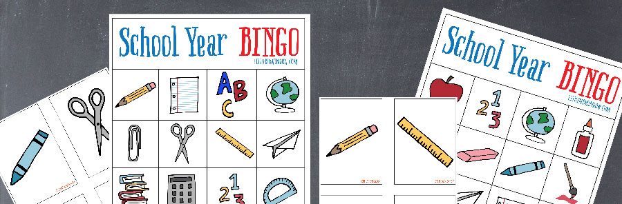 This fun and free Back to School Bingo printable is a great game for classroom parties at any time of the school year, kids love it!